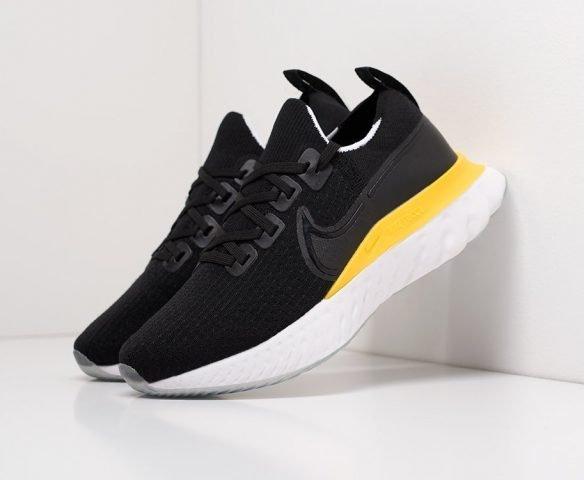 Nike React Infinity Run black-yellow