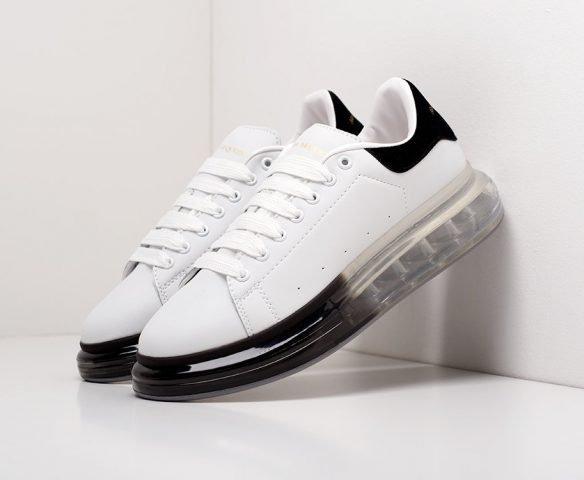 Alexander McQueen Lace-Up Sneaker белые