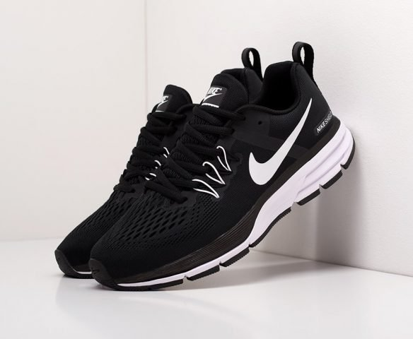 Nike Air Pegasus +30 черно-белые