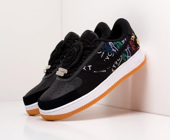Nike x Travis Scott Air Force 1 Low черные