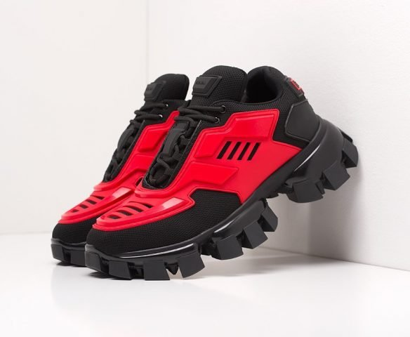 Prada Cloudbust Thunder черные с красным