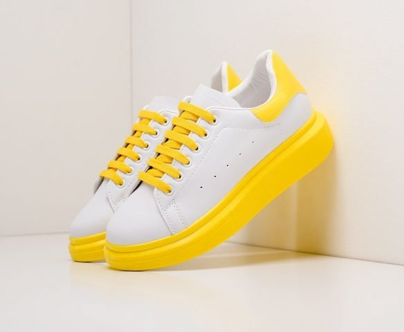 Fashion white-yellow