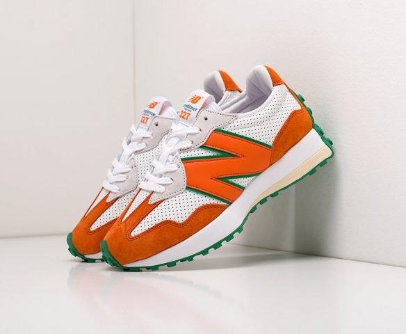 New Balance 327 white-orange