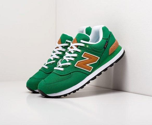 New Balance 574 wmn green