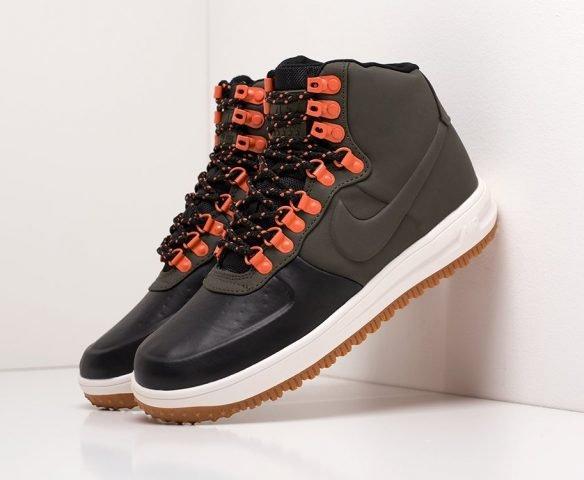 Nike Lunar Force 1 Duckboot mid черные