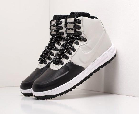 Nike Lunar Force 1 Duckboot white-black