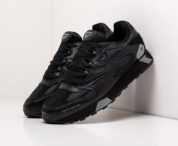 Reebok CL LTHR ATI 90S low black