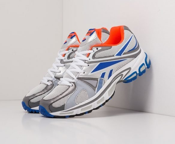 Vetements x Reebok Spike Runner 200 grey-blue