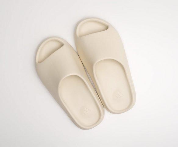 Adidas Yeezy slide beige