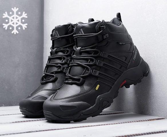Adidas Terrex Winter black leather