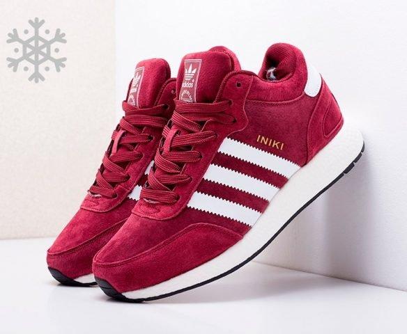 Adidas Iniki Runner Boost red winter
