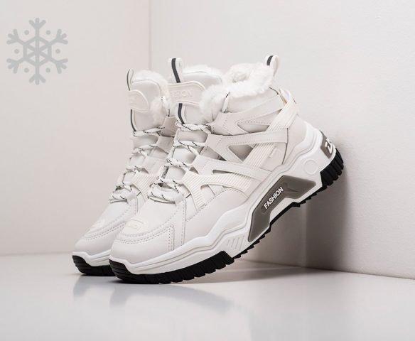 Fashion winter white high