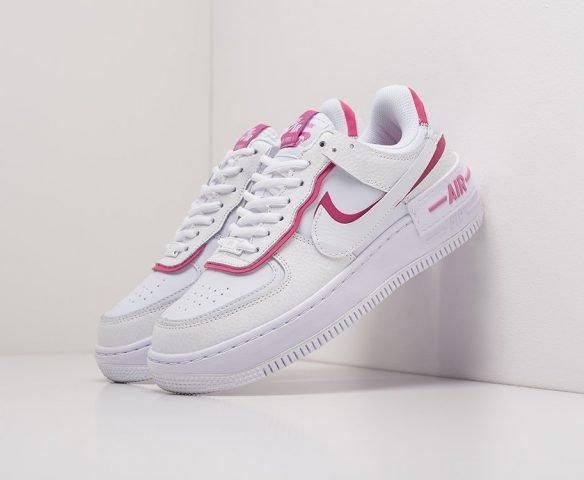 Nike Air Force 1 Shadow белые