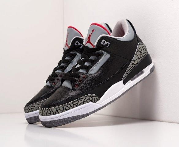 Nike Air Jordan 3 black