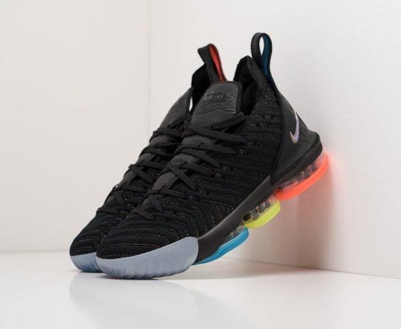 Nike Lebron XVI черные mid black