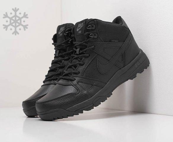 Ботинки Nike leather black
