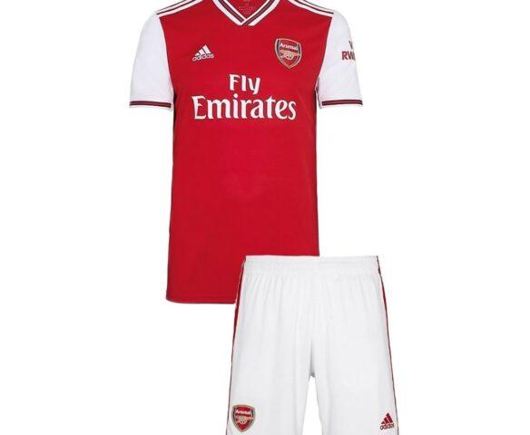 Футбольная форма Adidas FC Arsenal красная