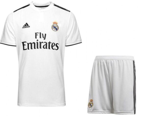 Футбольная форма Adidas FC Real Madrid белая