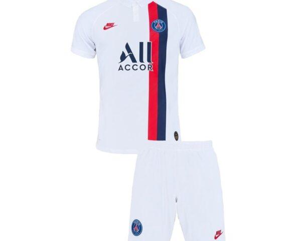 Футбольная форма Jordan FC PSG белая