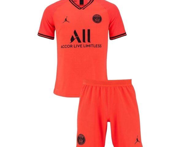 Футбольная форма Jordan FC PSG красная