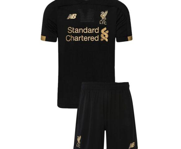 Футбольная форма New Balance Liverpool FC черная