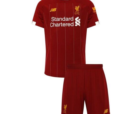Футбольная форма New Balance Liverpool FC red