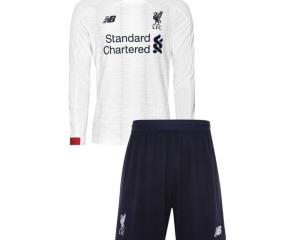 Футбольная форма New Balance Liverpool FC white