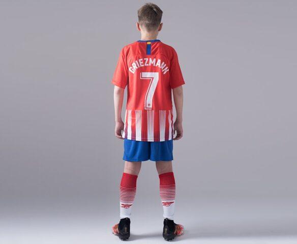 Футбольная форма Nike FC Atletico Madrid красная