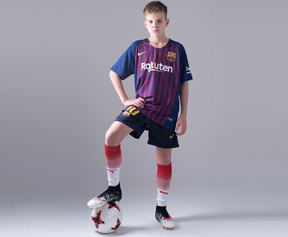 Футбольная форма Nike FC Barcelona разноцветная