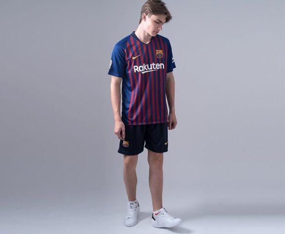 Футбольная форма Nike FC Barcelona синяя