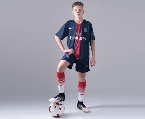 Футбольная форма Nike FC PSG синяя