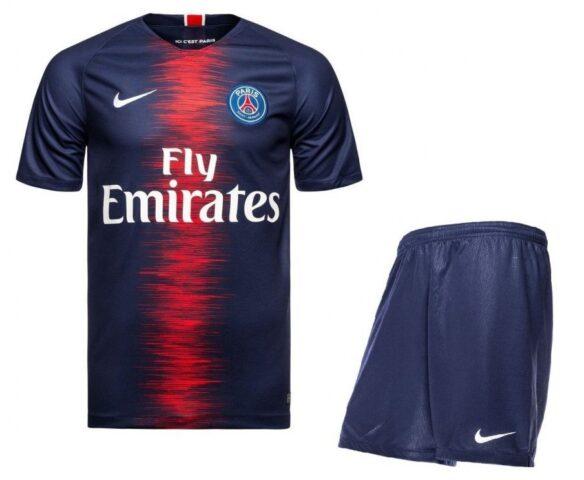 Футбольная форма Nike FC PSG темно-синяя