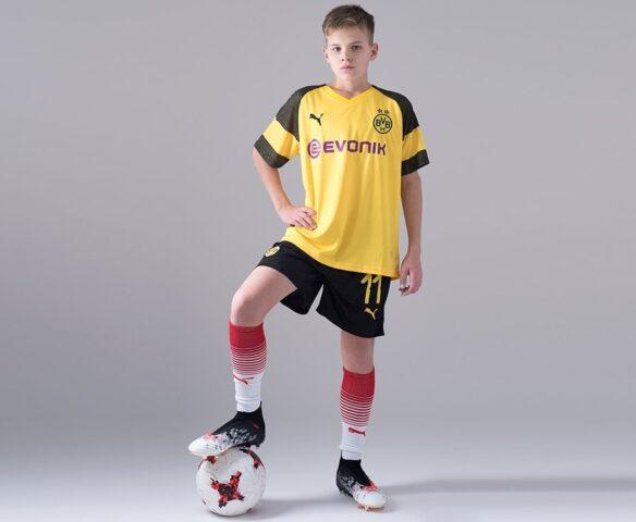 Футбольная форма Puma FC BVB желтая