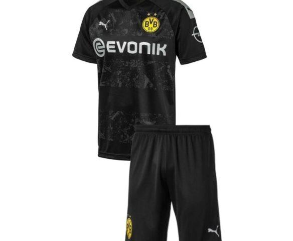 Футбольная форма Puma FC BVB черная