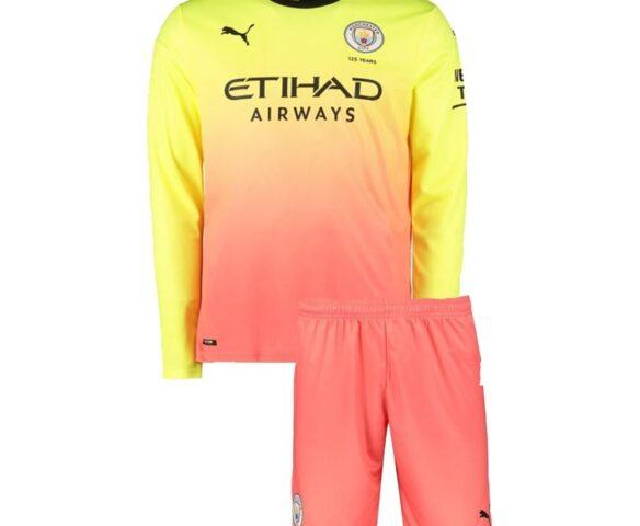 Футбольная форма Puma FC Manchester City 19/20 multicolored