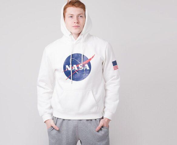 Худи NASA белый