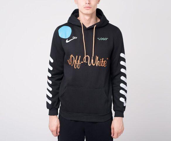 Худи OFF-WHITE black