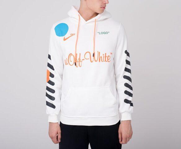 Худи OFF-WHITE белый