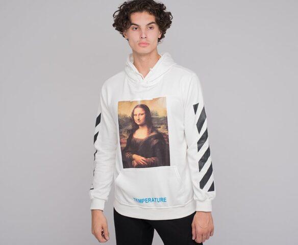 Худи OFF-WHITE «Мона Лиза»