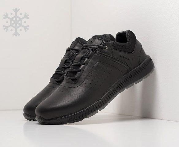 Ecco leather black (черные)