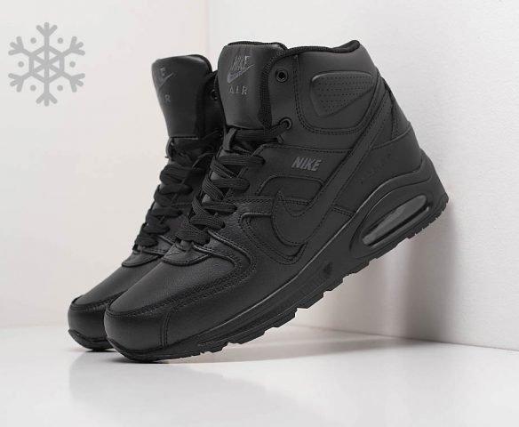 Nike Air Max Command Leather зимние черные