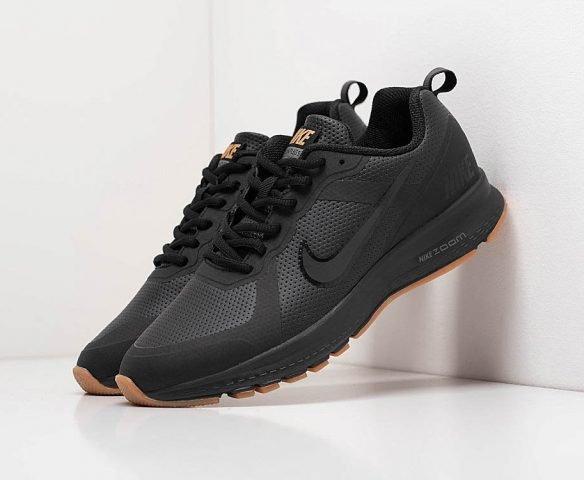 Nike Air Pegasus +30 черные для бега