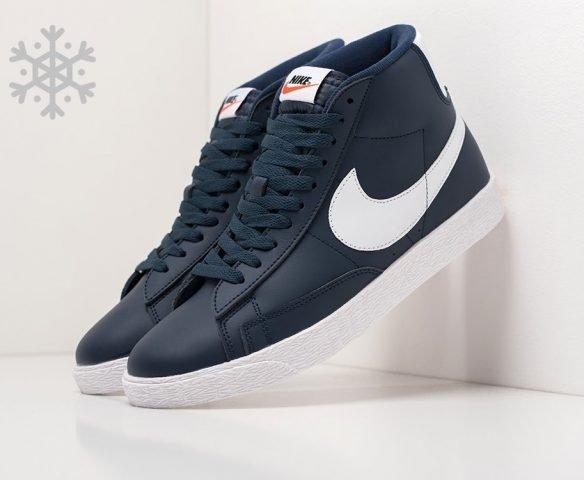 Nike Blazer Mid dark blue