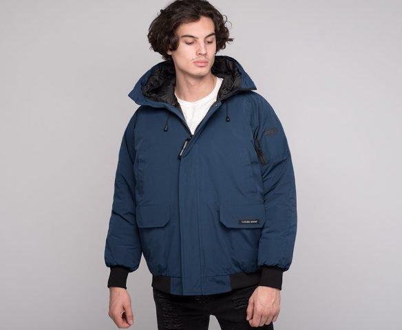 Куртка зимняя Canada Goose синяя