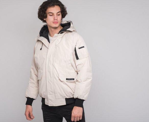 Куртка зимняя Canada Goose белая