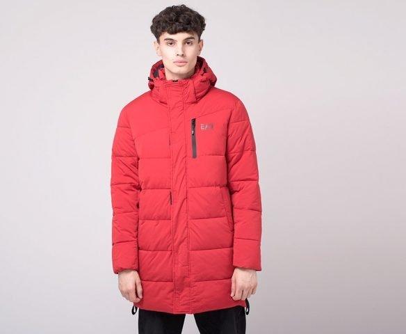 Куртка зимняя Emporio Armani красная