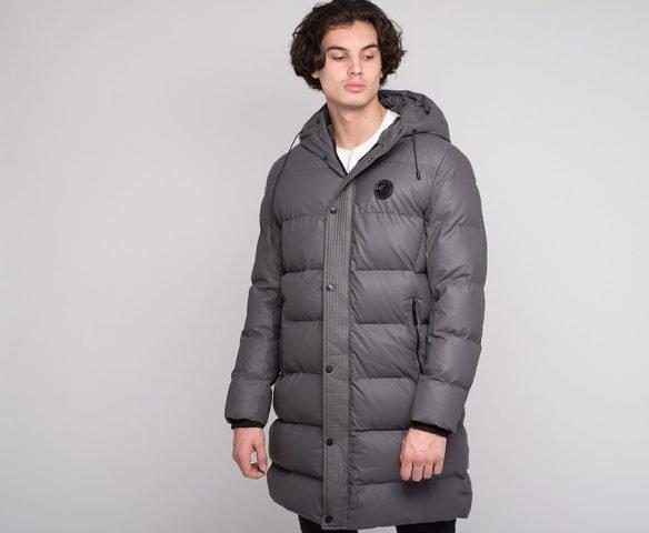Куртка зимняя Emporio Armani серая