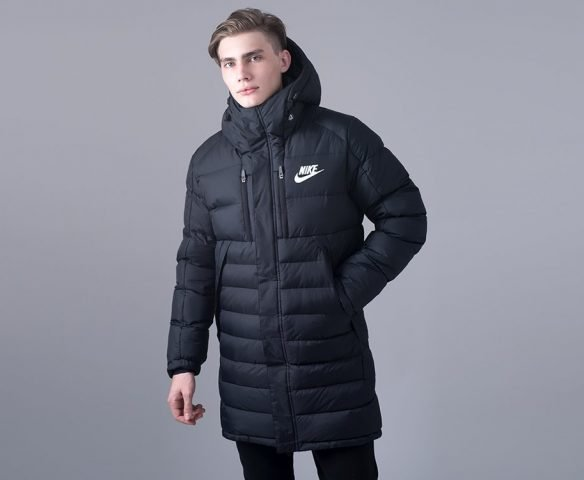 Куртка зимняя Nike черная
