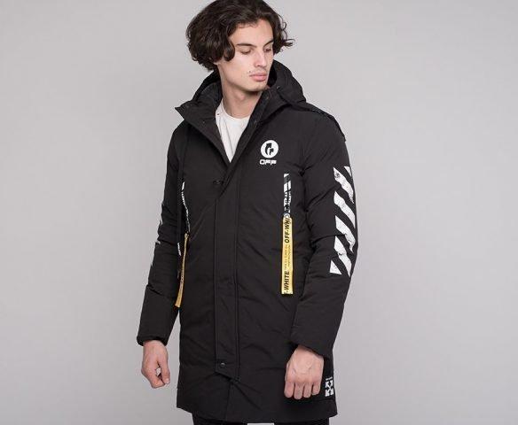 Куртка зимняя OFF-WHITE черный
