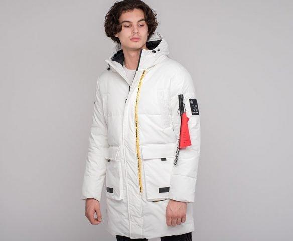 Куртка зимняя OFF-WHITE белая